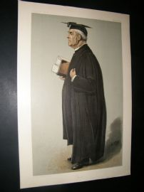 Vanity Fair Print 1901 Rev. William Baker, Clergy